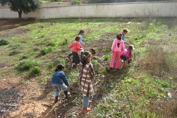 Project Green, Clean and Zween: Transforming school grounds into an environment of learning at the Sidi Abdel Jalil School