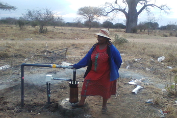 Drilling for Water in the Kithyululu Community