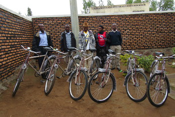 Community Health Worker Bikes