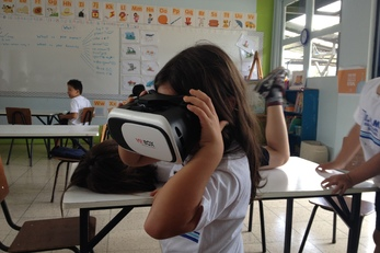 Prismatic Vision - The Virtual Reality classroom trips for schools of all income.