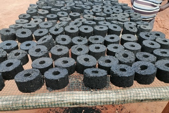Charcoal Biomass Briquette Production